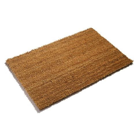 Coir Doormat Buy Pvc Backed Plain Coir Door Mats Makeanentrance Uk
