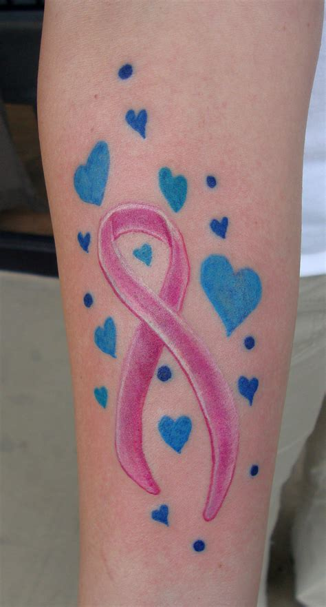 ribbon design tattoos cancer ribbon tattoos designs ideas and meaning tattoos