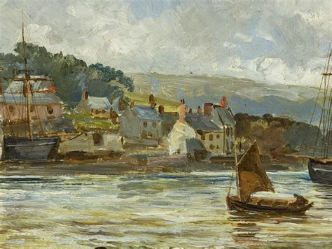 painting plymouth c1880 boats in plymouth painting by william henry pike