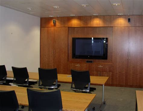 Projector Media Room - presentation amp media walls meeting room amp boardroom space office systems office furniture