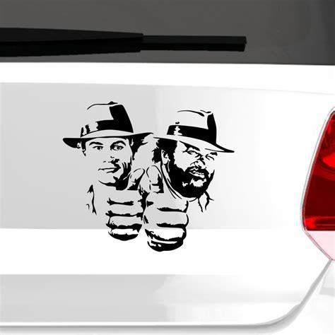 Aufkleber Auto Bud Spencer by Autoaufkleber Bud Spencer Und Terence Hill Auto Aufkleber