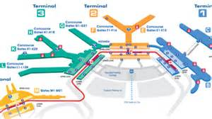 Airport Map Chicago O Hare by Where To Eat At O Hare International Airport Ord Eater