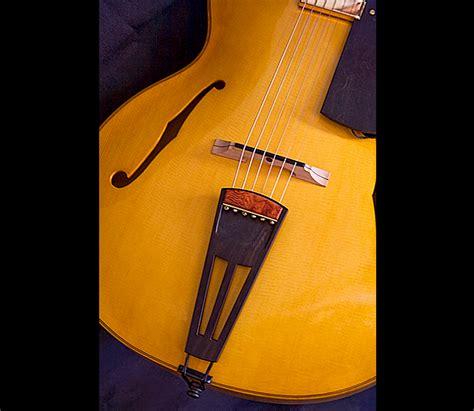 Custom Handmade Acoustic Guitars - luthier alan simcoe custom archtop hallowbody jazz