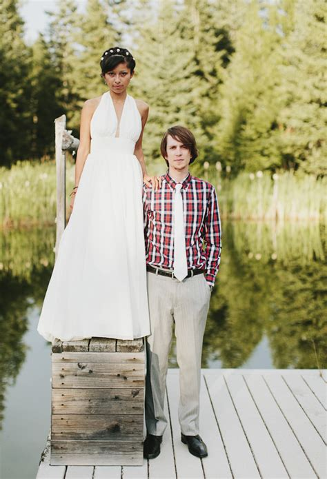 backyard wedding groom attire montana backyard wedding katch kory real weddings