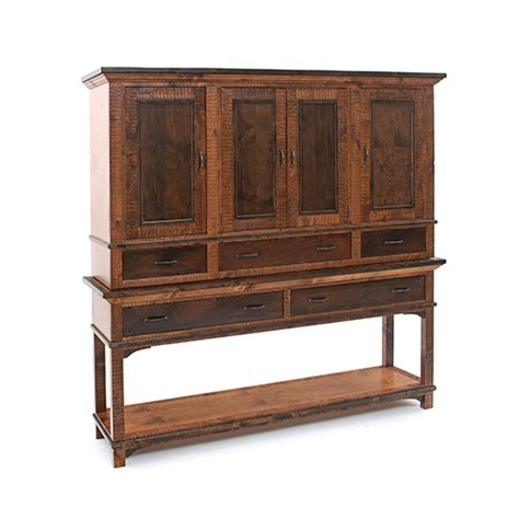 saratoga console hutch green gables