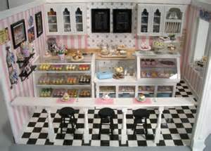Home Interior Decor Cupcake Shop 7 Stewart Dollhouse Creations