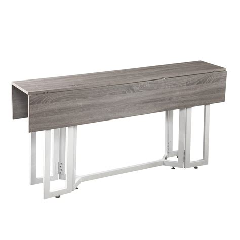 and martin console table amazon com martin driness drop leaf console