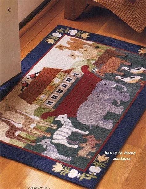noahs ark rug noah s ark hooked wool rug rug hooking wool home and rugs