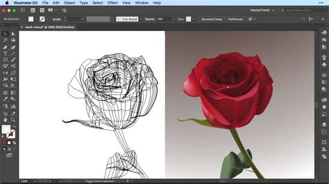 tutorial illustrator mesh tool how to use the gradient mesh tool in illustrator cc