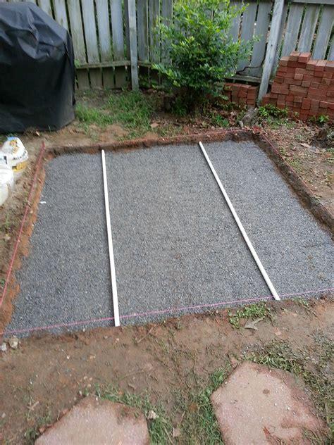 backyard brick patio how to make backyard brick patio sharenator
