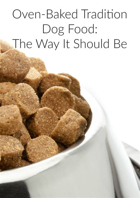 how should a puppy be on puppy food oven baked tradition food
