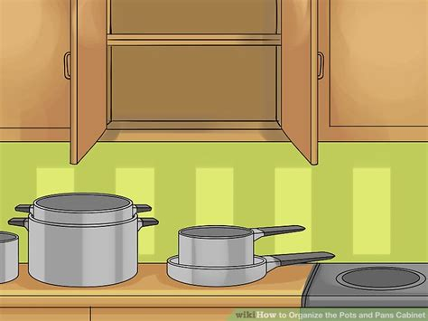 Kitchen Cupboard Organization Ideas How To Organize The Pots And Pans Cabinet 14 Steps