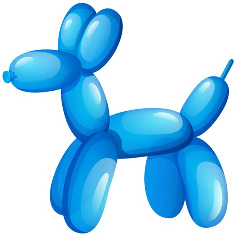 puppy balloons balloon animal clipart png clipground