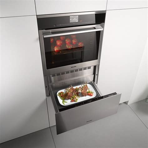 Miele Dishwasher Drawers by Miele Esw 6129 X Gourmet Warming Drawer Without Handle