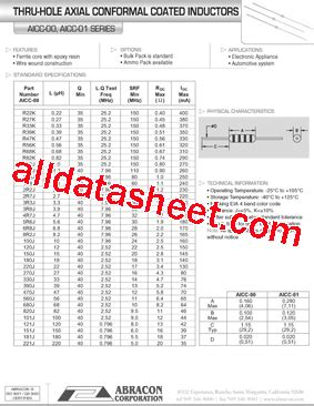 datasheet inductor 22uh axial leaded inductor datasheet 28 images irf 46 datasheet inductors epoxy conformal coated