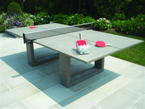stylish concrete ping pong table looks cool will cost you