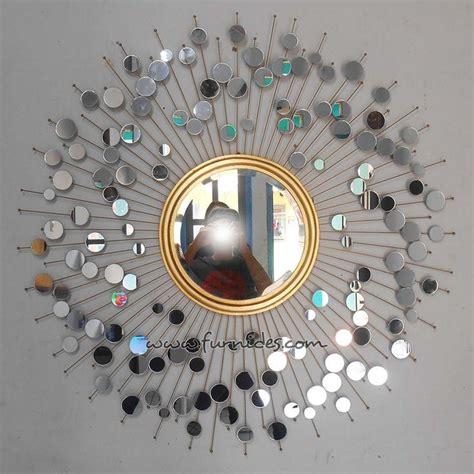 Cermin Hiasan hiasan dinding cermin matahari furnides mirror