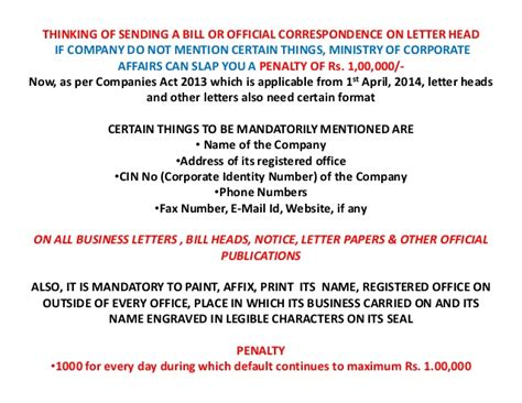 appointment letter format as per companies act 2013 new letter format as per companies act 2013