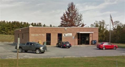 Maryland Post Office by Meeting Scheduled On Relocation Of Finksburg Md