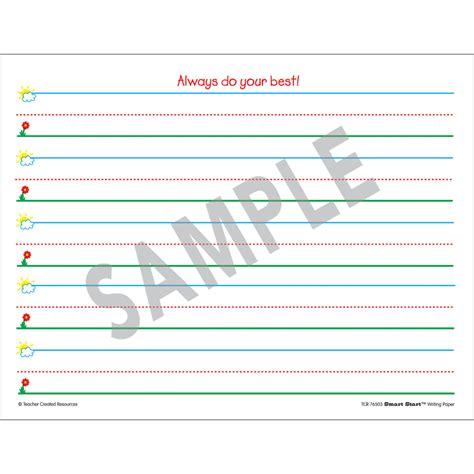 smart start writing paper smart start k 1 writing paper 360 sheets tcr76503