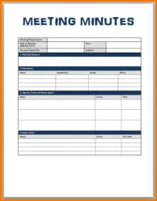 Standard Minutes Of Meeting Template by Sle Meeting Minutes Template Authorization Letter Pdf