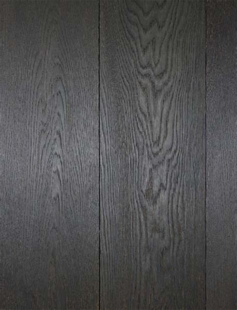 Gray Stained Wood Floors by Montaigne Collection Charleroi Wood Floors Eclectic