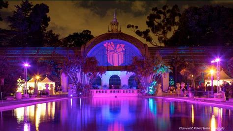 leds light balboa park for the holidays san diego gas