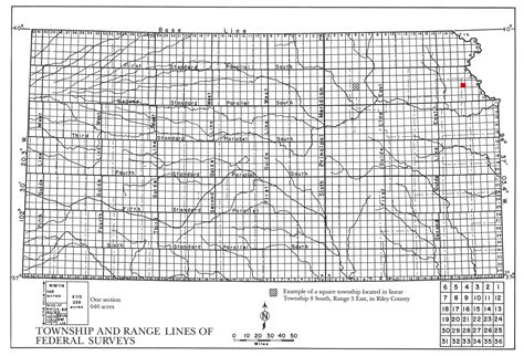 Find Township Range Section by Kansas Township And Range Map Search Engine At