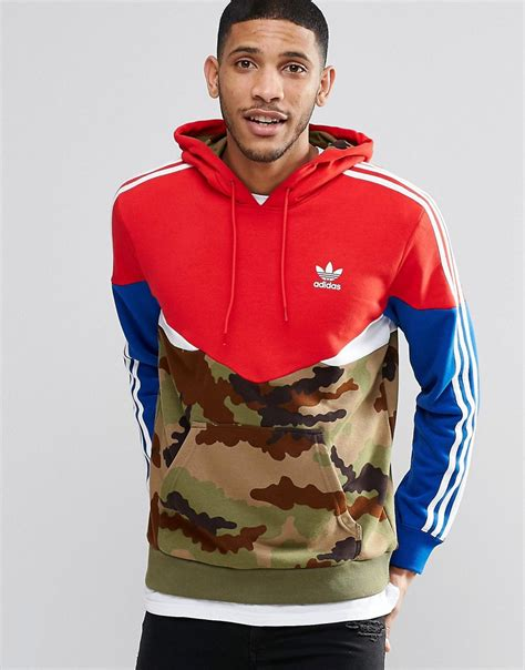 Pusat Sweater Adidas Reds adidas originals camo pack hoodie ay8106 in for lyst