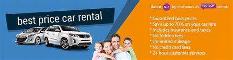 rental car best prices car hire usa rent a car best price
