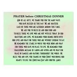 christmas dinner prayer for a group gathering