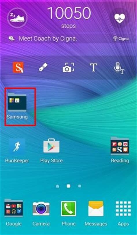 App Drawer Folders by How To Create App Folders On Galaxy Note 4 Home Screen And