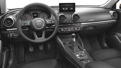 interni audi a 3 audi a3 sportback 2016 dimensions boot space and interior