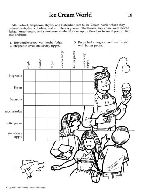 Deductive Reasoning Worksheets by Prufrock Press Connections Activities For Deductive