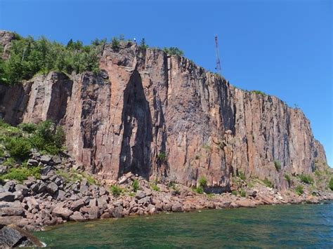 silver bay mn boat tours going past palisade head picture of north shore scenic