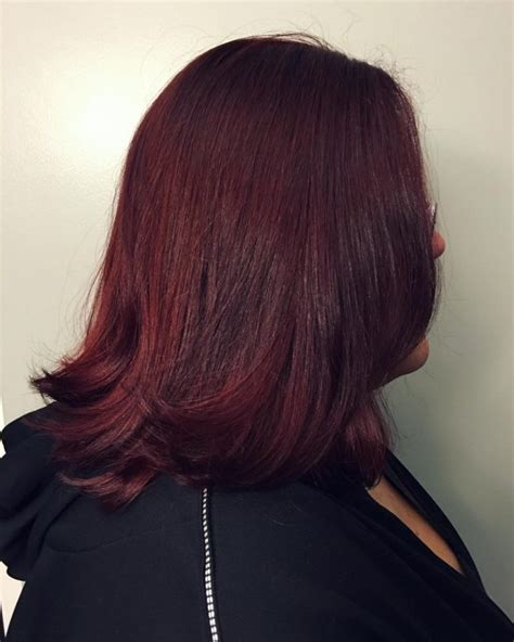 brown cherry hair color dark red hair color for 2017 new hair color ideas