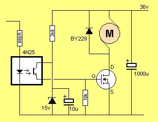 optocoupler transistor driver simple ignition coil drivers 7 steps