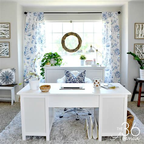 home office decor home office decor reveal part one the 36th avenue