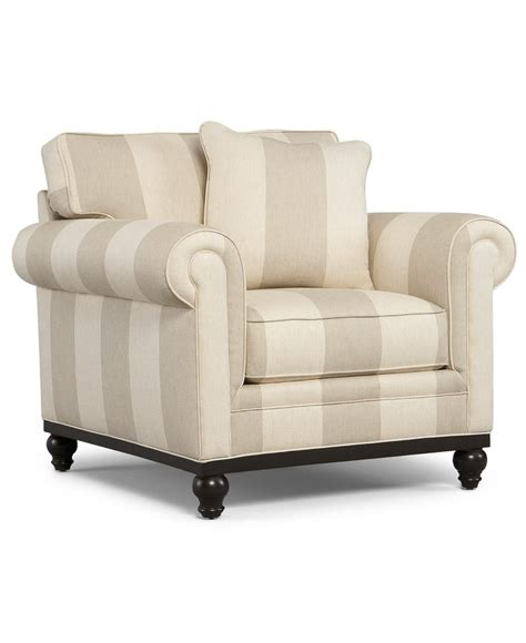 Martha Stewart Living Room Chair Club Striped Arm Chair Arm Chairs For Living Room