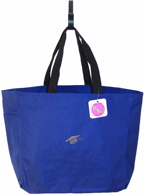 graduation cap graduate gift bag  monogram