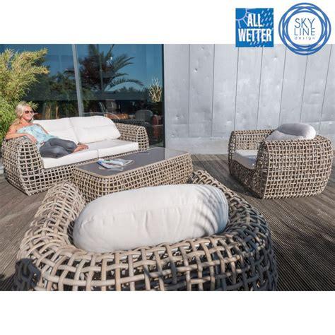 bambus im garten 2381 lounge sofa garten terrasse gastro qualit 196 t skyline