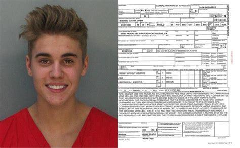 justin bieber s eyes when arrested justin bieber arrested for drunk driving drag racing
