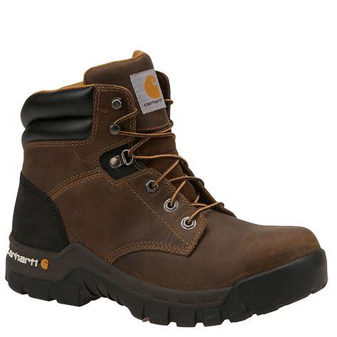 carhartt rugged flex 6 work boots leather s carhartt 6 quot rugged flex soft toe s boot ebay