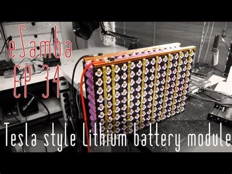diy tesla electric car lithium ion 18650 battery vw