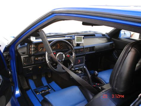 mitsubishi conquest interior bluequest88 1988 mitsubishi starion specs photos
