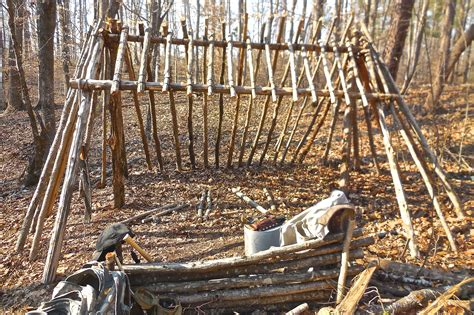 bush craft for bushcraft shelter survival sherpa