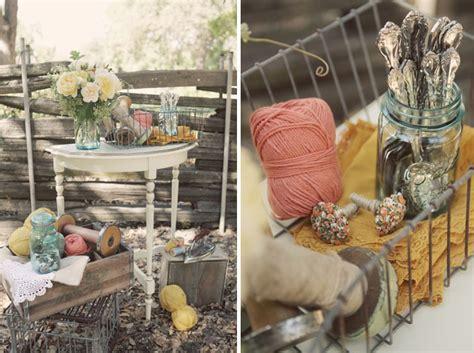 Rustic, Vintage Wedding Ideas   Green Wedding Shoes