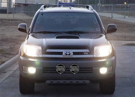 2004 toyota 4runner lights road lights mounted to bumper toyota 4runner forum