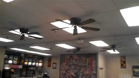restaurants in the fan encon casanova deluxe ceiling fans in a restaurant