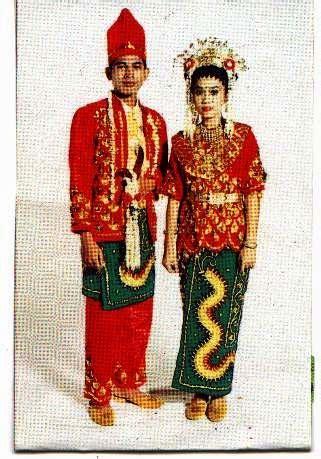 Baju Adat Dayak Kalimantan Selatan calon crew apn ipdn reg kalbar